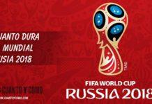 Cuanto dura el mundial rusia 2018