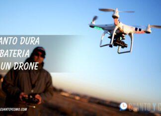 Cuanto dura la bateria de un drone
