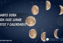 Cuanto dura cada fase lunar