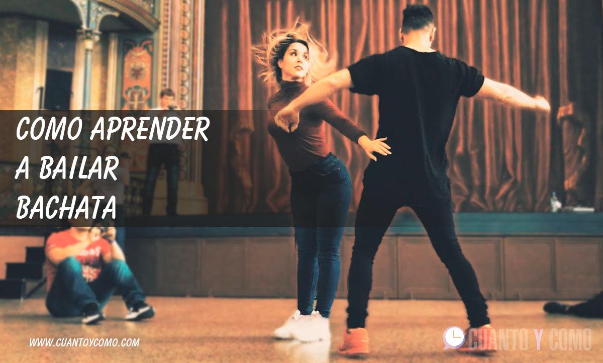 Como aprender a bailar bachata