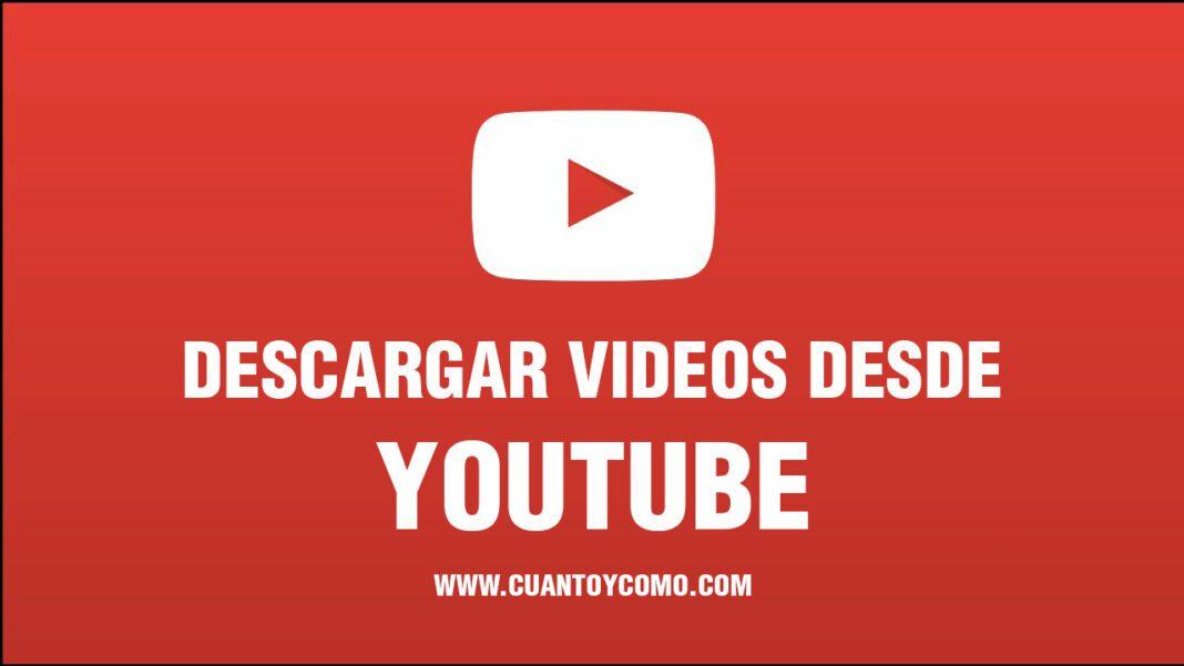 como descargar videos youtube
