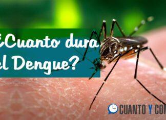 Cuanto dura el dengue?