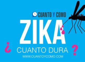 Cuanto dura el zika