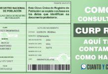 Consultar CURP RFC online