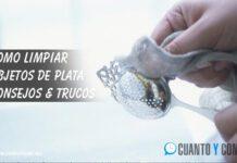 Como limpiar objetos de plata
