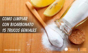 Bicarbonato de Sodio - Trucos de limpieza
