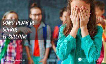 consejos para victimas de bullying