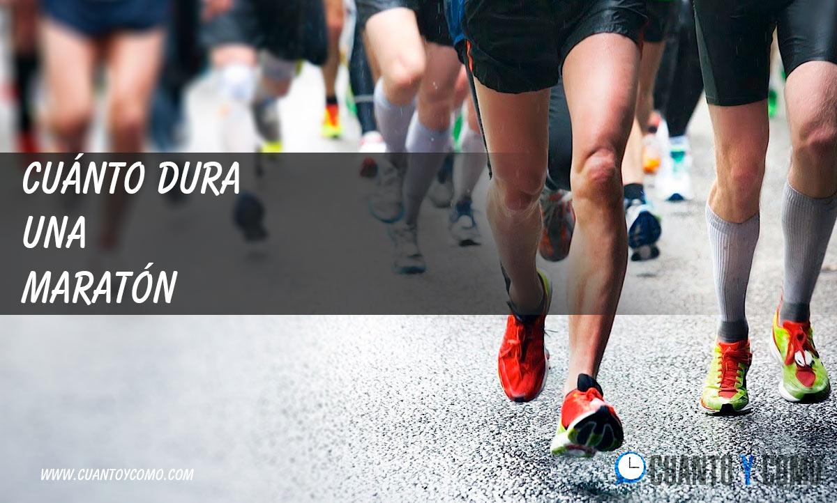 Cuanto dura una maraton