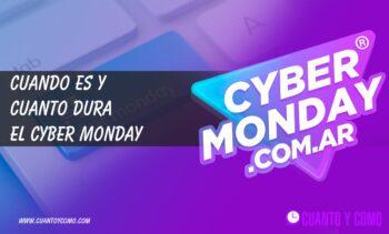 Cybermonday Argentina - Fechas