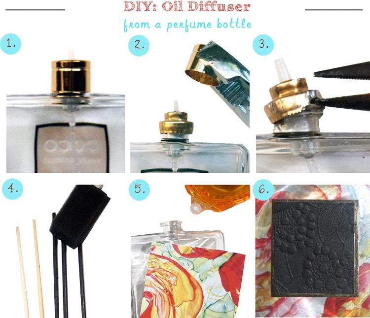difusor de aromas casero