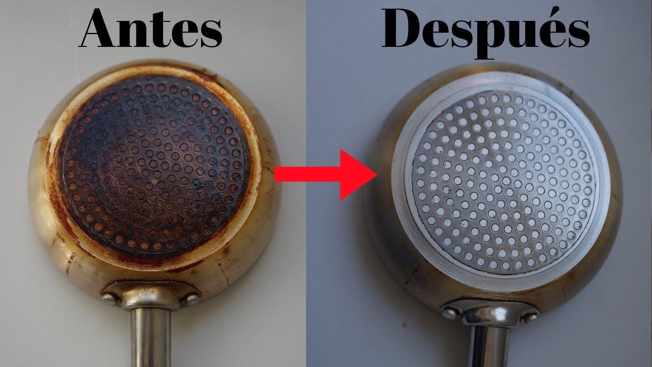limpiar ollas con bicarbonato