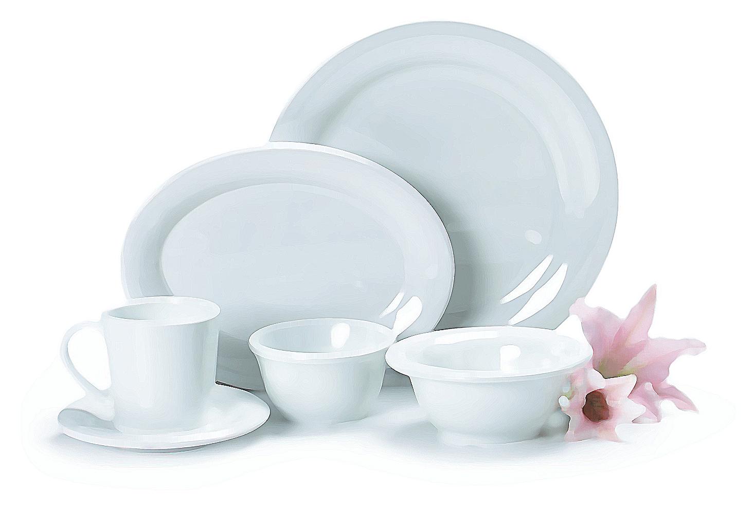 limpiar platos con bicarbonato