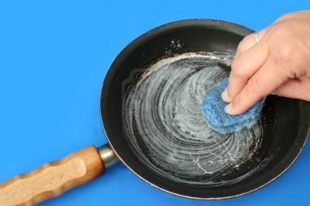 limpiar sarten antiadherente con bicarbonato