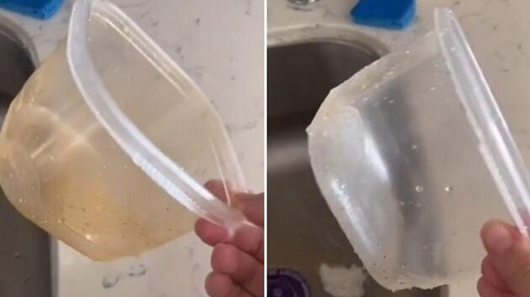 limpiar tuppers con bicarbonato