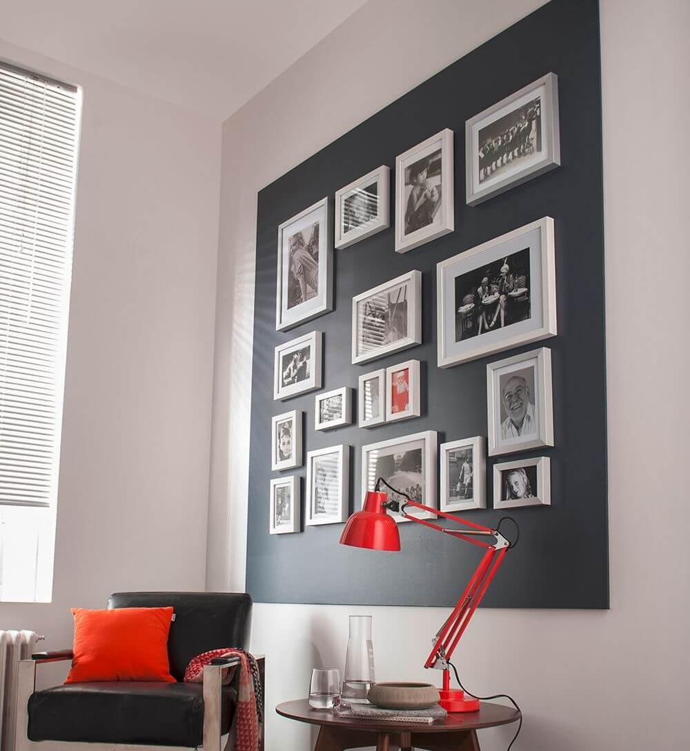 Como poner fotos en una pared